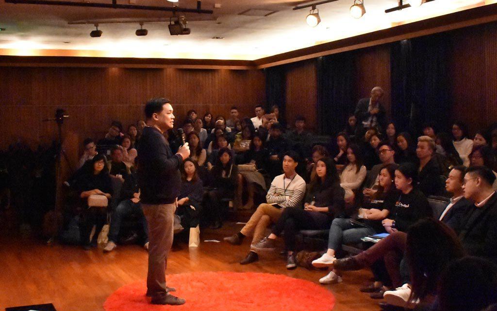 TEDxChaterRoad_羅永聰擔任分享嘉賓