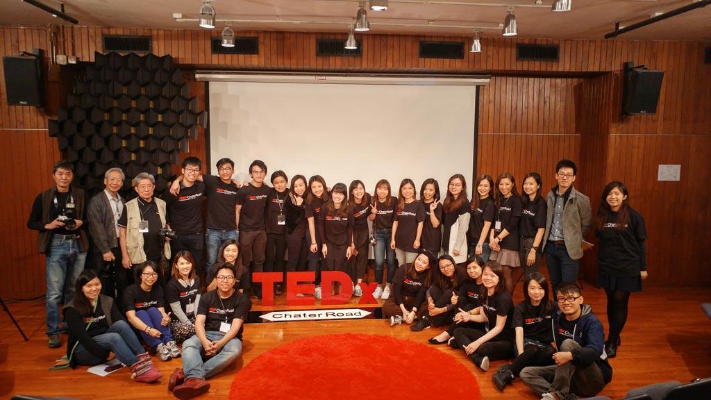 TEDxChaterRoad_籌辦團隊與工作人員