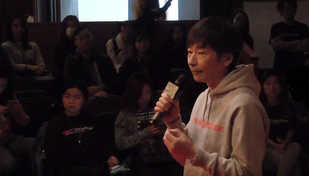 劉志遠,曹星如教練,TEDx演講