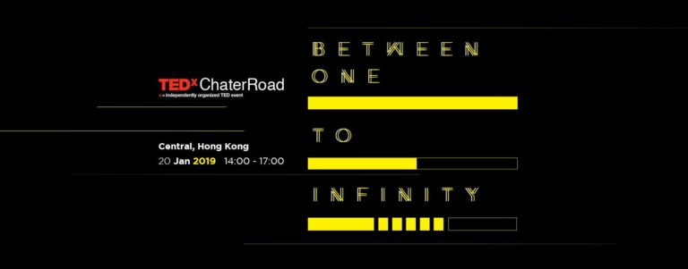 TEDxChaterRoad2019-BetweenOnetoInfinity